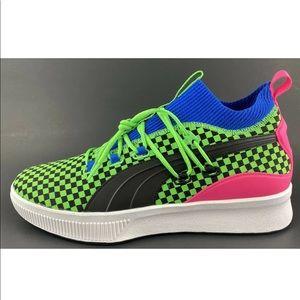 Puma Clyde Court Summertime Green Basketball Shoes